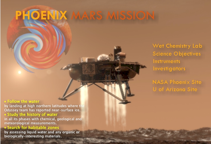mission to mars phoenix - photo #1